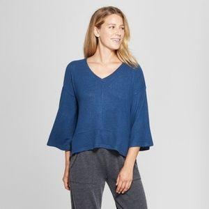Gilligan & O'Malley Women's Blue Cozy Sleep Tunics